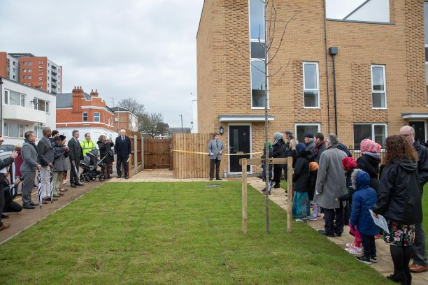 Cross Street Housing Opening