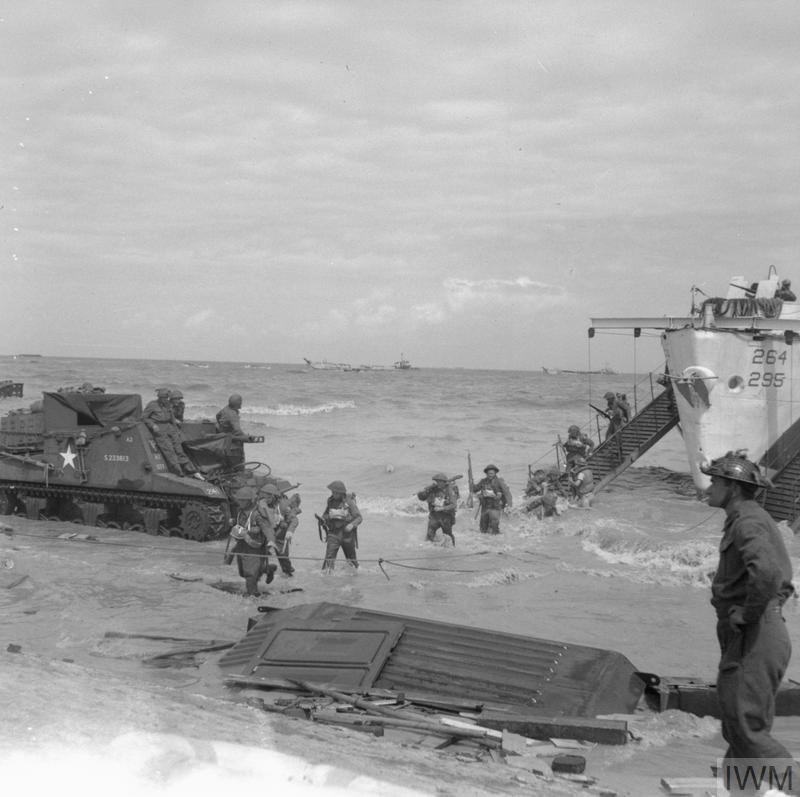 Gold Beach with the Essex Yeomanry