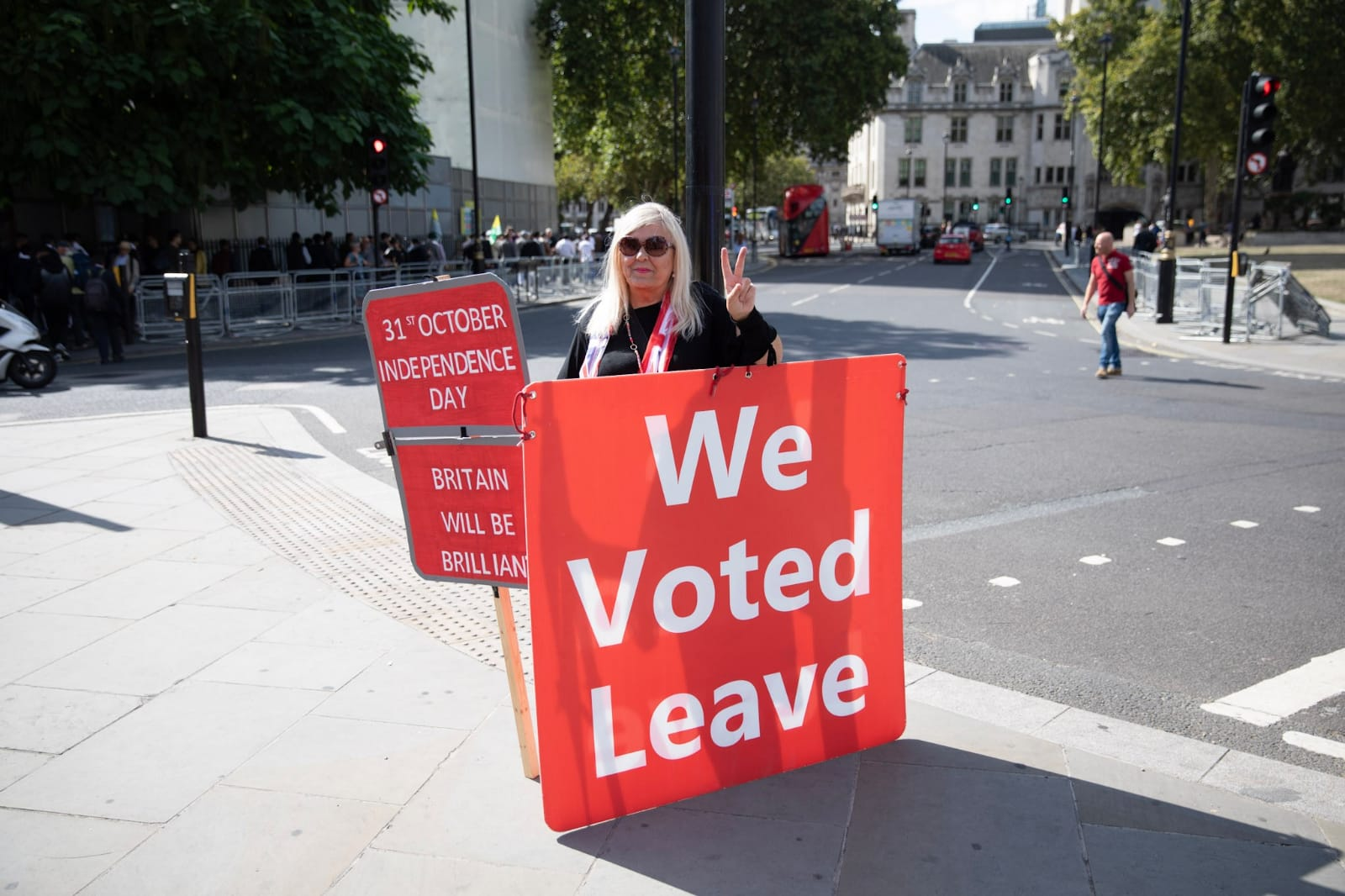 We voted Leave
