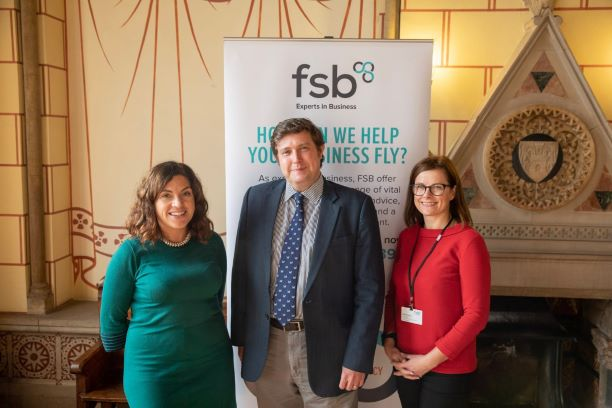FSB leaders with Andrew