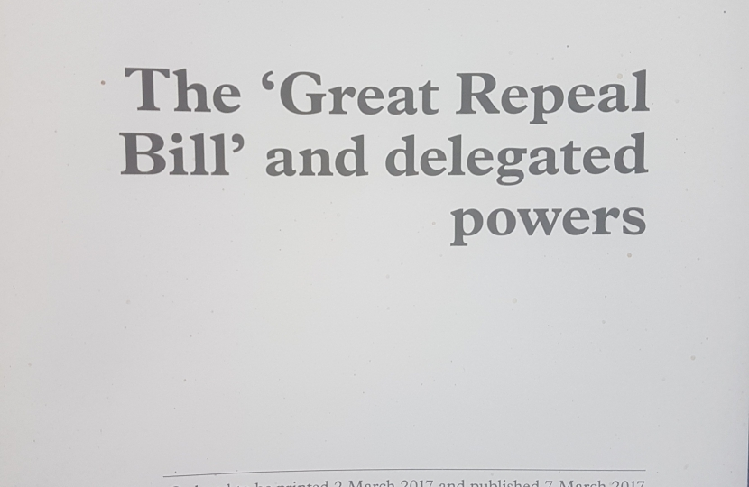 The Repeal Bill