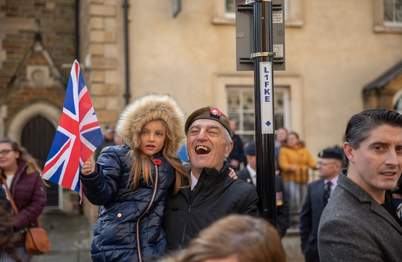 Child with Union Jack