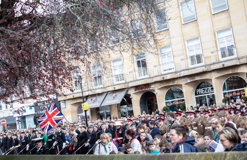 Union Jack in crowd