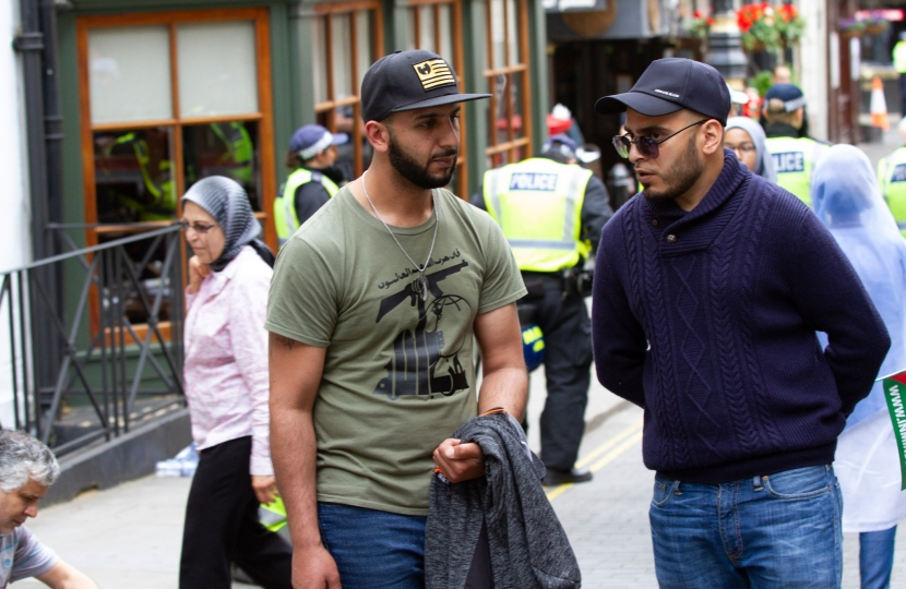 Terrorost sympathiser in London