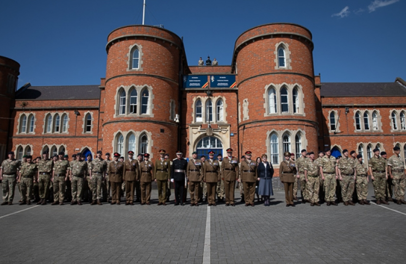 103bn REME at Clare Street Barracks
